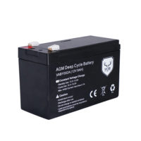 12V 9AH AMP Hour Battery AGM SLA Deep Cycle Dual Fridge Solar Power 12 VOLT