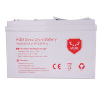 135AH AGM Battery 12V AMP Hour SLA Deep Cycle Dual Fridge Solar Power 12 VOLT