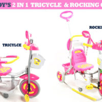 2In1 Tricycle And Rocking Chair