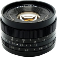 7artisans Photoelectric 50mm f/1.8 Lens for Canon EF-M Mount - Black