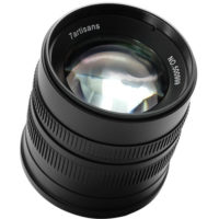 7artisans Photoelectric 55mm f/1.4 Lens for Fuji FX-Mount - Black