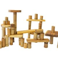 Bamboo building set 46 pcs