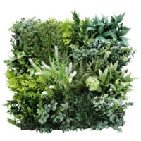 Flowering Bespoke Vertical Garden / Green Wall UV Resistant SAMPLE 45cm x 45cm