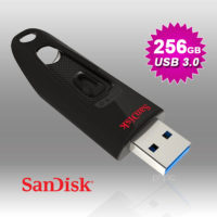 SANDISK 256GB  ULTRA CZ48 USB 3..0 FLASH DRIVE (SDCZ48-256G)