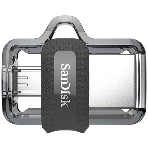 SANDISK OTG ULTRA DUAL USB DRIVE 3.0 FOR ANDRIOD PHONES 256GB 150MB/S SDSDDD3-256G