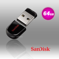 SanDisk Cruzer Fit CZ33 64GB USB Flash Drive