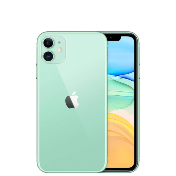 Apple iPhone 11 128GB A2223 Dual Sim with Tempered Glass Screen Protector - Green
