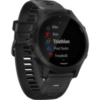 Garmin Forerunner 945 GPS Wrist-based Heart Rate Sport Watch - Black (Watch Only) (010-02063-00) (US and Canada Map only) (Support EU Languages)