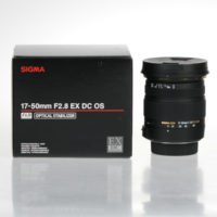 Sigma 17-50mm f/2.8 EX DC OS HSM Lens For Nikon Mount