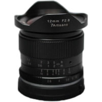 7artisans Photoelectric 12mm f/2.8 Lens for Fuji FX-Mount - Black