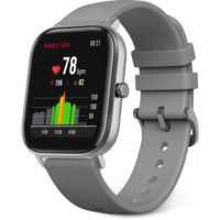 Amazfit GTS GPS Smart Watch - Lava Grey