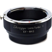 Zhongyi Lens Turbo Adapters ver II for Canon EF Lens to Micro Four Thirds Camera